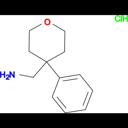 (4-Phenyloxan-4-yl)methanamine hydrochloride