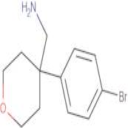 [4-(4-Bromophenyl)oxan-4-yl]methanamine