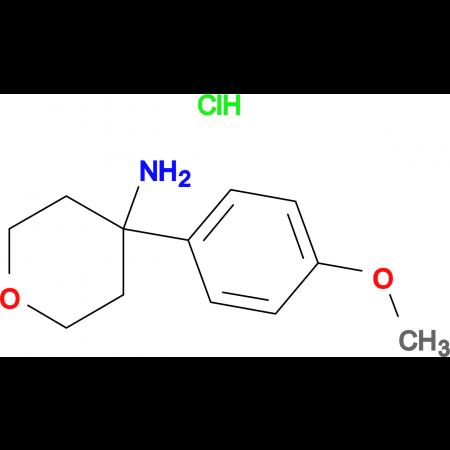4-(4-Methoxyphenyl)oxan-4-amine hydrochloride