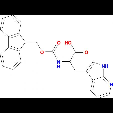 2-((((9H-Fluoren-9-yl)methoxy)carbonyl)amino)-3-(1H-pyrrolo[2,3-b]pyridin-3-yl)propanoic acid