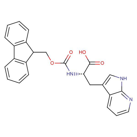 (S)-2-((((9H-Fluoren-9-yl)methoxy)carbonyl)amino)-3-(1H-pyrrolo[2,3-b]pyridin-3-yl)propanoic acid
