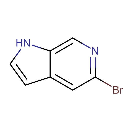 5-Bromo-1H-pyrrolo[2,3-c]pyridine