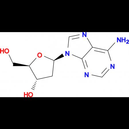 (2R,3S,5R)-5-(6-Amino-9H-purin-9-yl)-2-(hydroxymethyl)tetrahydrofuran-3-ol