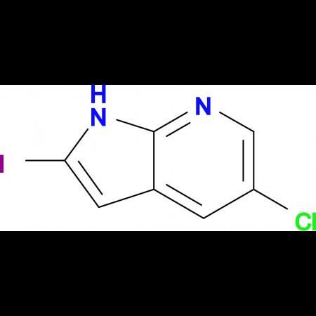 5-Chloro-2-iodo-1H-pyrrolo[2,3-b]pyridine