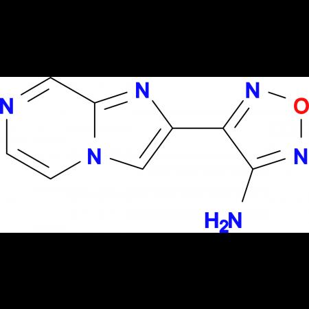 4-(Imidazo[1,2-a]pyrazin-2-yl)-1,2,5-oxadiazol-3-amine