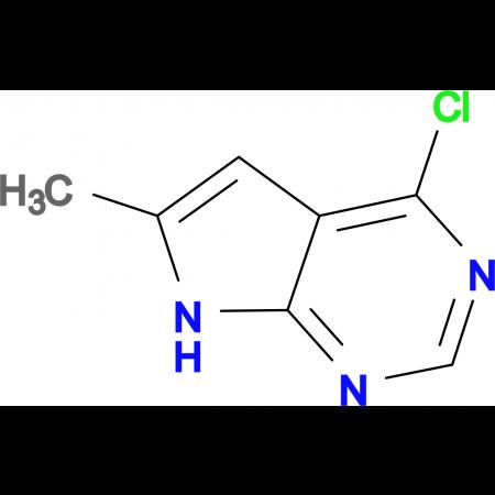 4-Chloro-6-methyl-7H-pyrrolo[2,3-d]pyrimidine