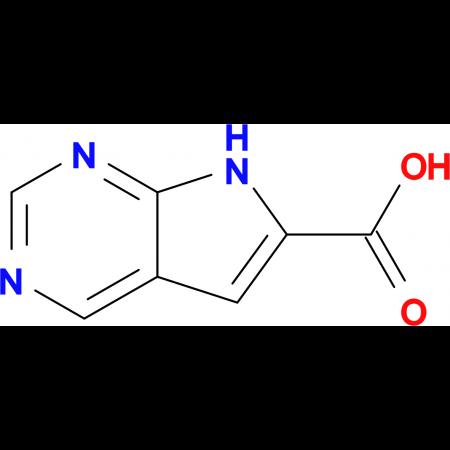 7H-Pyrrolo[2,3-d]pyrimidine-6-carboxylic acid