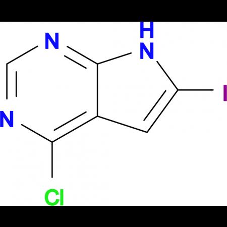 4-Chloro-6-iodo-7H-pyrrolo[2,3-d]pyrimidine