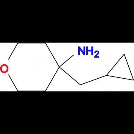 4-(Cyclopropylmethyl)tetrahydro-2H-pyran-4-amine