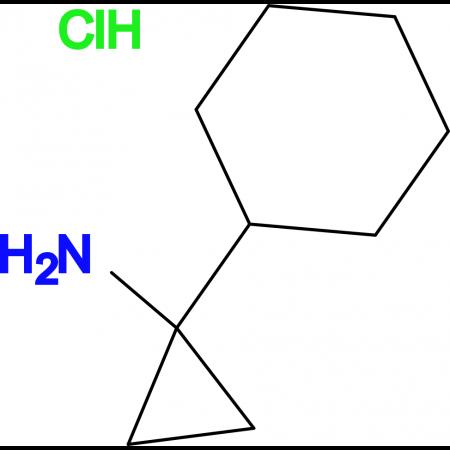 (1-Cyclohexylcyclopropyl)amine hydrochloride
