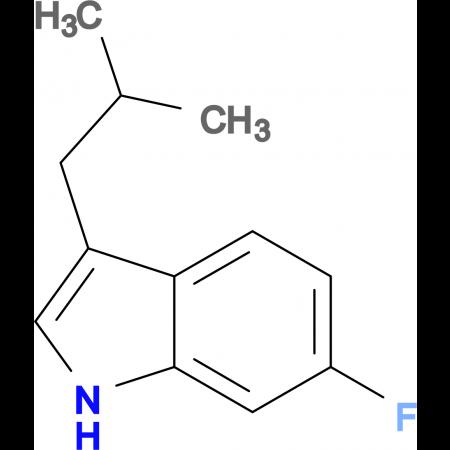6-Fluoro-3-isobutyl-1H-indole