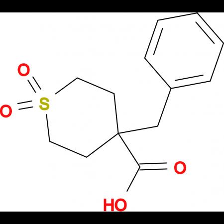 4-Benzyl-1,1-dioxo-1lambda(6)-thiane-4-carboxylic acid