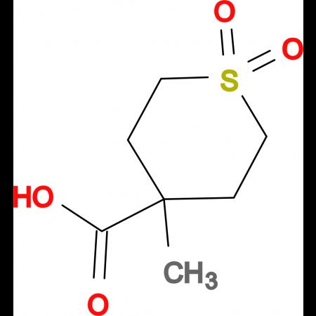 4-Methyl-1,1-dioxo-1lambda(6)-thiane-4-carboxylic acid
