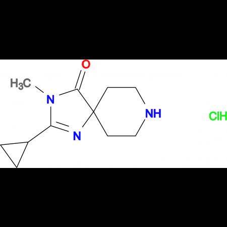 2-Cyclopropyl-3-methyl-1,3,8-triazaspiro[4.5]dec-1-en-4-one hydrochloride