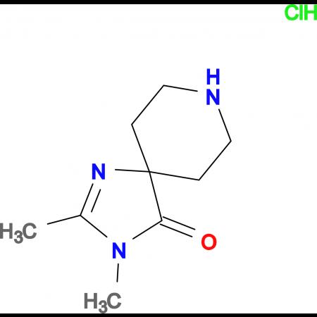 2,3-Dimethyl-1,3,8-triazaspiro[4.5]dec-1-en-4-one hydrochloride