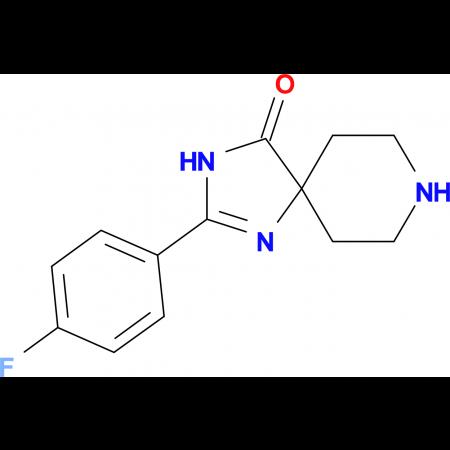 2-(4-Fluorophenyl)-1,3,8-triazaspiro[4.5]dec-1-en-4-one