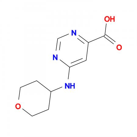 6-(Tetrahydro-2H-pyran-4-ylamino)pyrimidine-4-carboxylic acid