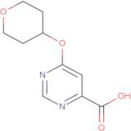 6-(Tetrahydro-2H-pyran-4-yloxy)pyrimidine-4-carboxylic acid