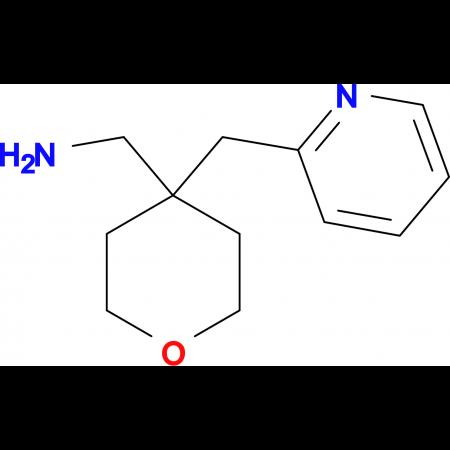 [4-(Pyridin-2-ylmethyl)oxan-4-yl]methanamine