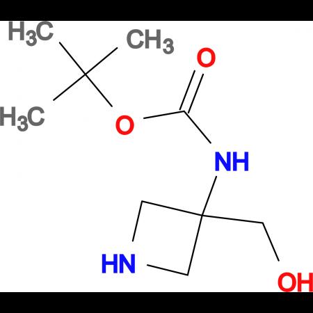 tert-Butyl 3-(hydroxymethyl)azetidin-3-ylcarbamate
