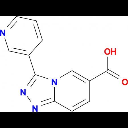 3-(Pyridin-3-yl)-[1,2,4]triazolo[4,3-a]pyridine-6-carboxylic acid