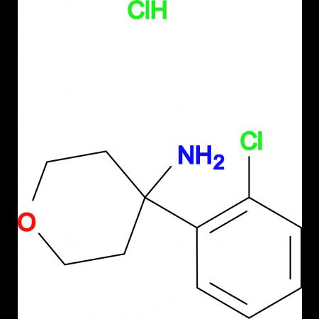 4-(2-Chlorophenyl)oxan-4-amine hydrochloride