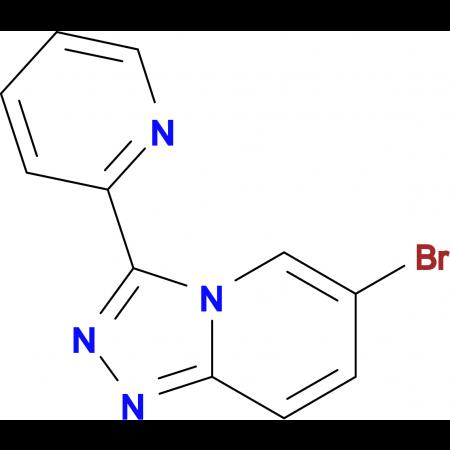 2-{6-Bromo-[1,2,4]triazolo[4,3-a]pyridin-3-yl}pyridine