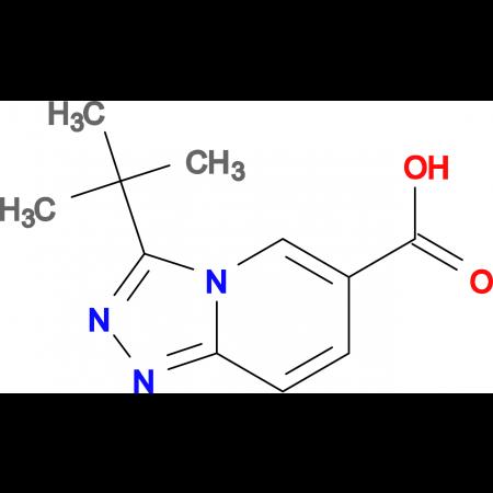 3-tert-Butyl-[1,2,4]triazolo[4,3-a]pyridine-6-carboxylic acid