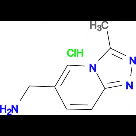 3-Methyl-[1,2,4]triazolo[4,3-a]pyridin-6-yl-methanamine hydrochloride