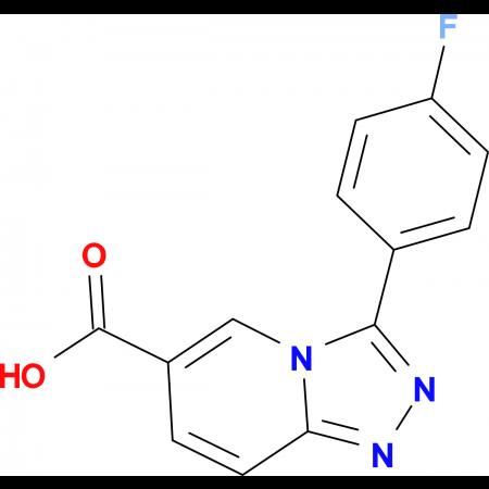 3-(4-Fluorophenyl)-[1,2,4]triazolo[4,3-a]pyridine-6-carboxylic acid