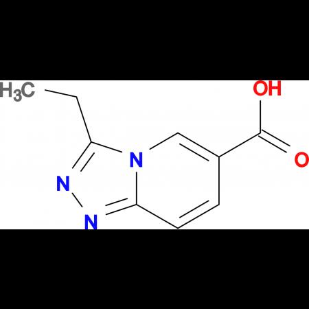 3-Ethyl-[1,2,4]triazolo[4,3-a]pyridine-6-carboxylic acid