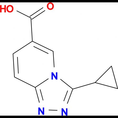 3-Cyclopropyl-[1,2,4]triazolo[4,3-a]pyridine-6-carboxylic acid