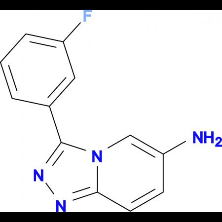 3-(3-Fluorophenyl)-[1,2,4]triazolo[4,3-a]pyridin-6-amine