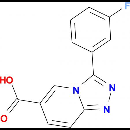 3-(3-Fluorophenyl)-[1,2,4]triazolo[4,3-a]pyridine-6-carboxylic acid