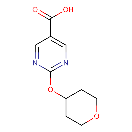 2-(Oxan-4-yloxy)pyrimidine-5-carboxylic acid