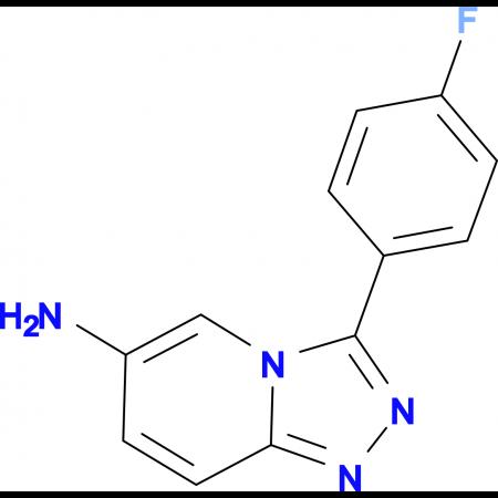 3-(4-Fluorophenyl)-[1,2,4]triazolo[4,3-a]pyridin-6-amine
