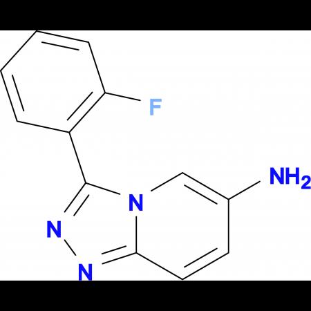 3-(2-Fluorophenyl)-[1,2,4]triazolo[4,3-a]pyridin-6-amine