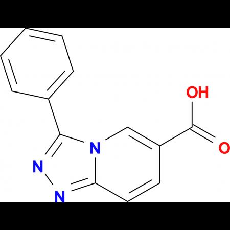 3-Phenyl-[1,2,4]triazolo[4,3-a]pyridine-6-carboxylic acid