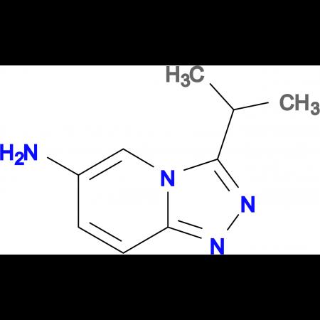 3-(Propan-2-yl)-[1,2,4]triazolo[4,3-a]pyridin-6-amine