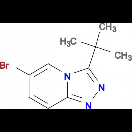 6-Bromo-3-tert-butyl-[1,2,4]triazolo[4,3-a]pyridine