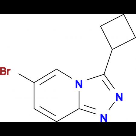 6-Bromo-3-cyclobutyl-[1,2,4]triazolo[4,3-a]pyridine