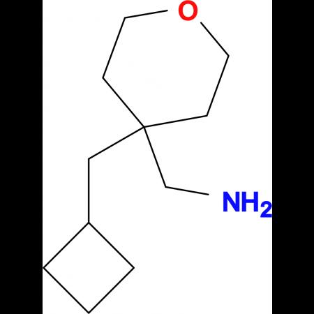 [4-(Cyclobutylmethyl)oxan-4-yl]methanamine