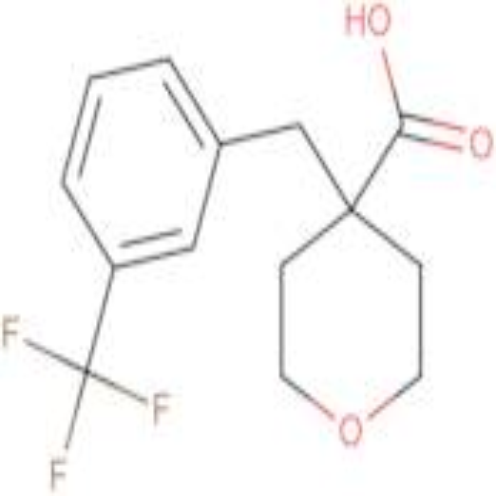 4-[3-(Trifluoromethyl)phenyl]methyl-oxane-4-carboxylic acid