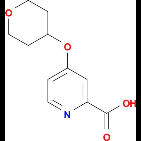 4-(Oxan-4-yloxy)pyridine-2-carboxylic acid
