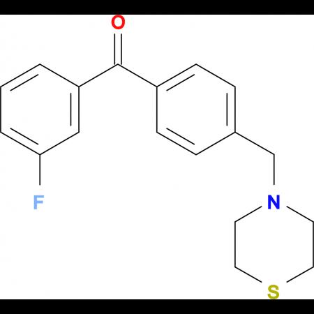 3-fluoro-4'-thiomorpholinomethyl benzophenone