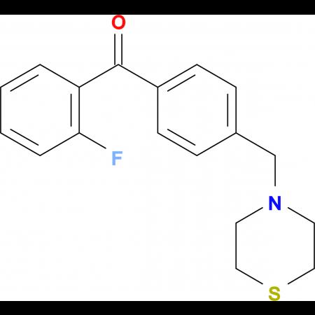 2-fluoro-4'-thiomorpholinomethyl benzophenone