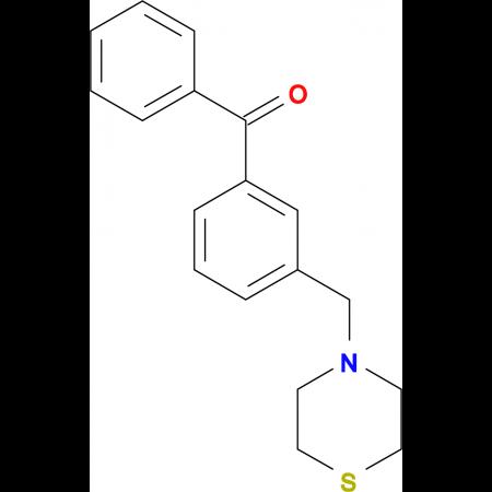 3-(thiomorpholinomethyl)benzophenone