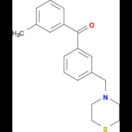 3-methyl-3'-thiomorpholinomethyl benzophenone