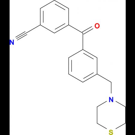 3-cyano-3'-thiomorpholinomethyl benzophenone