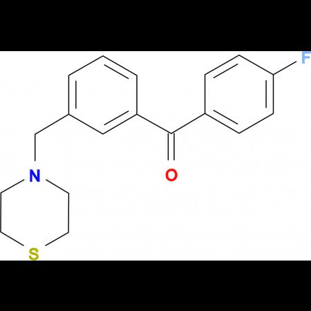 4'-fluoro-3-thiomorpholinomethyl benzophenone